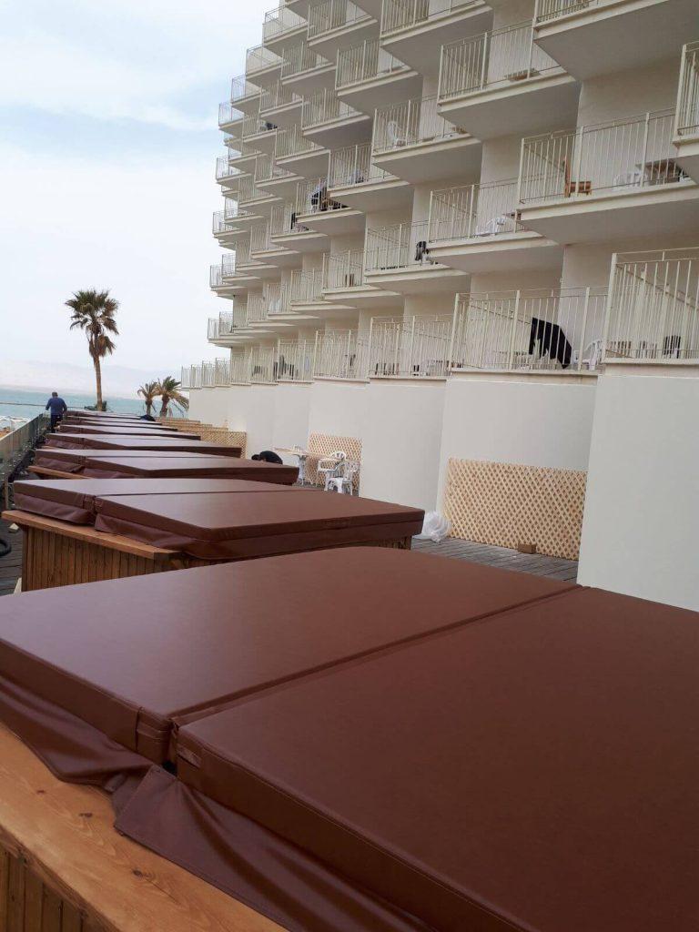 מערכות ספא במלון הוד במדבר
